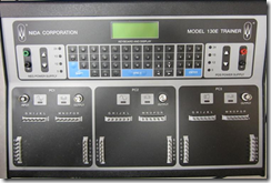 Model 130E Test console from NIDA