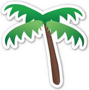 palm tree emoji 2