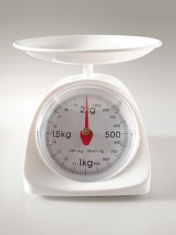 Picture of a kitchen scale