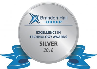 Questionmark Silver Excellence in Technology BHG Award