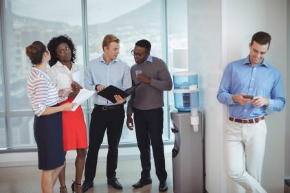 Workplace Training Without the Water Cooler